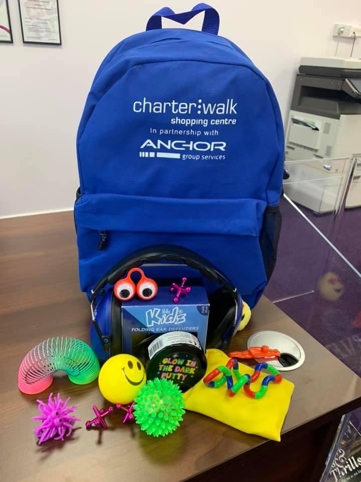 Charter Walk Sensory Bag