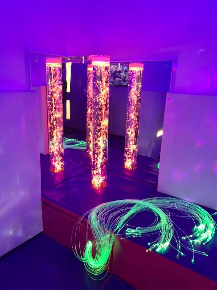 Charter Walk sensory room lights