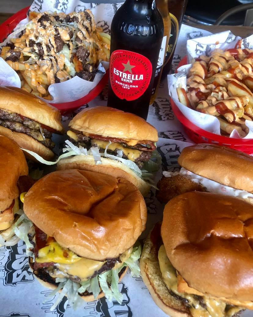 Takeaway Burger from Ellis's