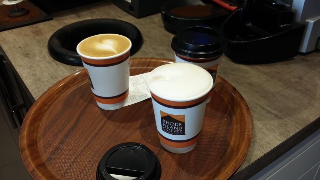 Rhode Island Coffee Burnley drinks