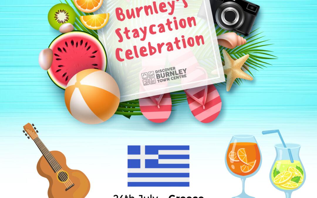 Burnley's Staycation Celebration – Greece