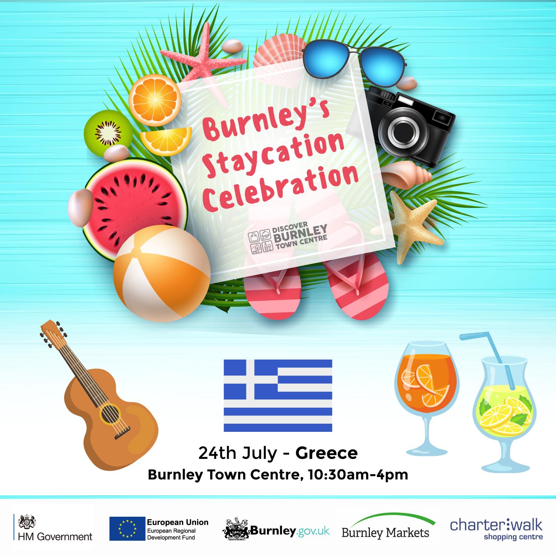 Burnley Staycation Greece