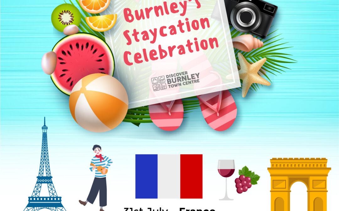 Burnley's Staycation Celebration – France