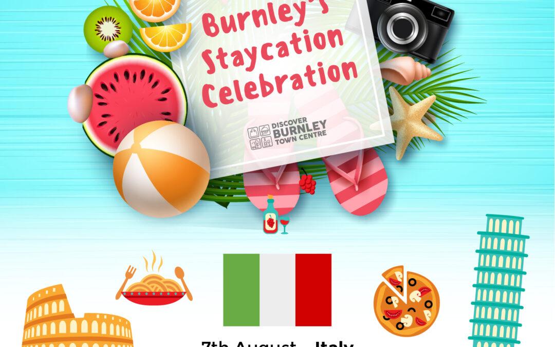 Burnley's Staycation Celebration – Italy