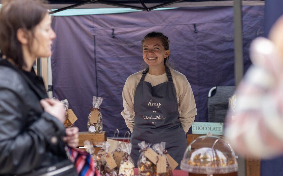 Burnley Artisan Market Stall